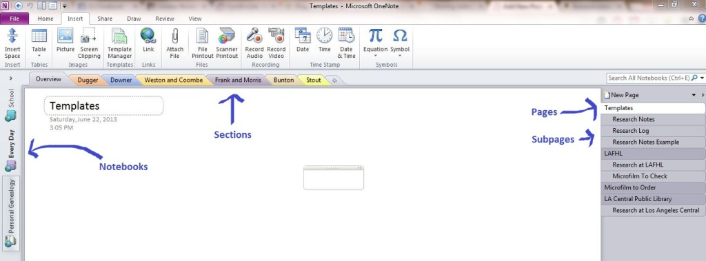 OneNote Overview Photo